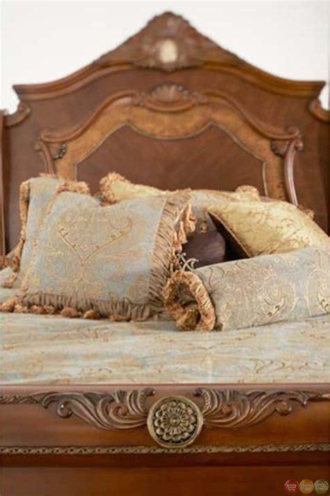cortina sleigh bedroom set california king n65000cksl 28 michael amini cortina traditional california king sleigh