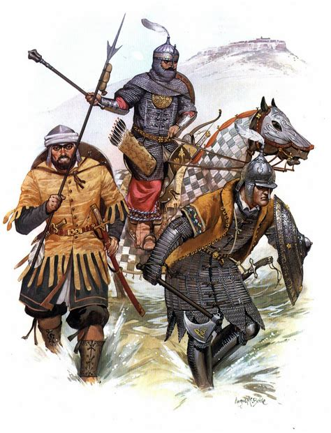 Ottoman Turks Ottoman Turkish Warriors During The Fall Of Constantinople In 1453 Ad The Lost Treasure Chest
