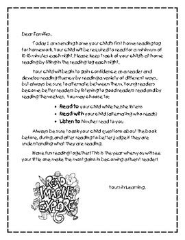 literacy at hikutaia school information for parents written language all about the home reading log a letter to parents by
