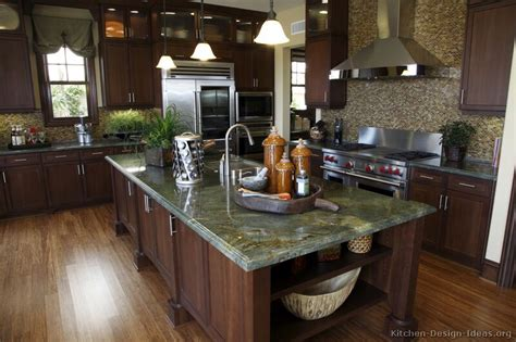 pictures of kitchens traditional dark wood kitchens luxury kitchen design ideas and pictures