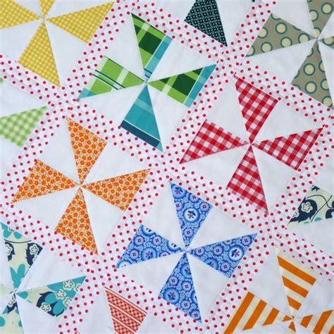 quilt pattern pinwheel free pinwheels on parade quilt pattern pdf file red pepper