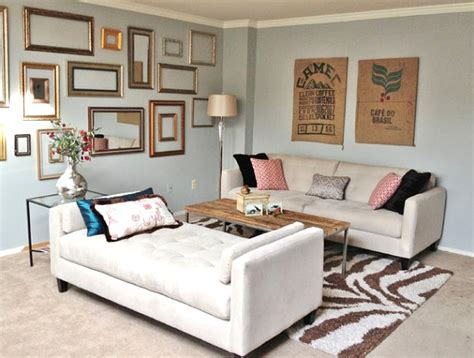 chaise lounge living room arrangement how to decorate a small living room