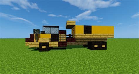 minecraft dump truck articulated dump truck minecraft project