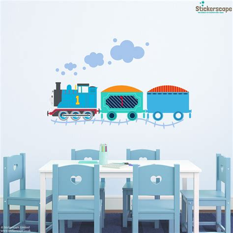 engine wall stickers the tank engine wall sticker pack stickerscape uk