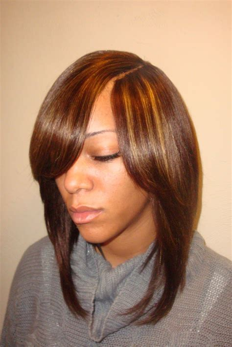invisible part quick weave short styles sew in bob hairstyles invisible part 255 hair styles