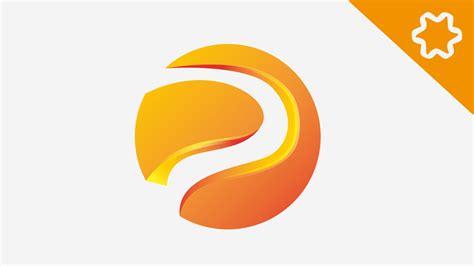 Tutorial Adobe illustrator for Beginners / Custom 3D ... P Design Logo