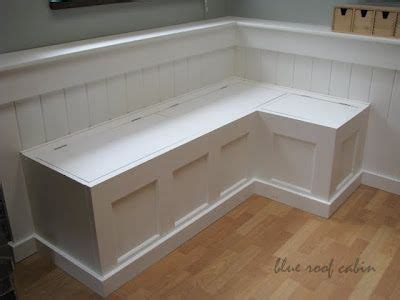 diy banquette storage bench diy built in kitchen bench woodworking projects plans