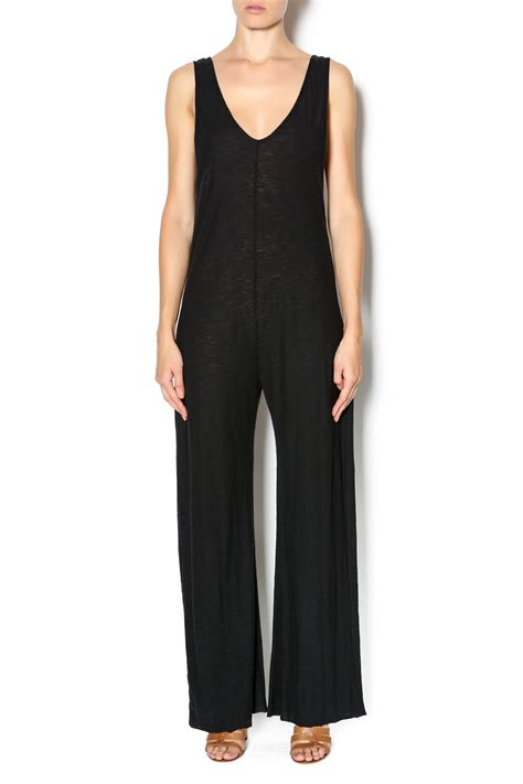 knit jumpsuit black knit jumpsuit from arizona by clothes
