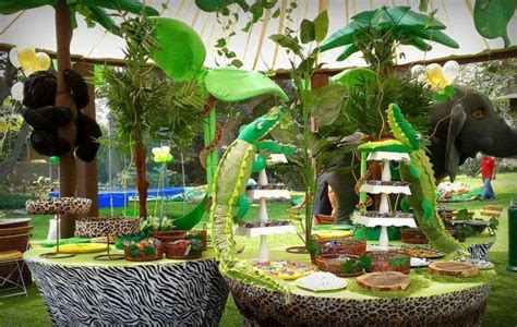 Decoration Theme Jungle by Jungle Decorations Omg Jungle Ideas