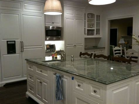 house beautiful ocean inspired kitchen urban grace 25 best ideas about green kitchen countertops on