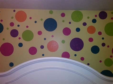 Paint Polka Dots Bedroom Wall by 24 Best Images About Kensley Bedroom On Polka