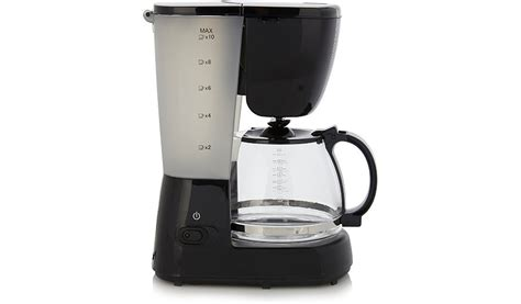 Sharp Libre Coffee Maker george home gcm101b 10 cup filter coffee machine home