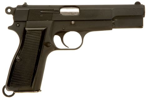 Pistol L by Deactivated Browning L9a1 Hipower Pistol Modern