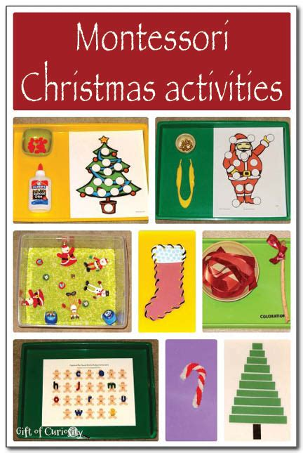christmas themes toddlers christmas montessori activities gift of curiosity