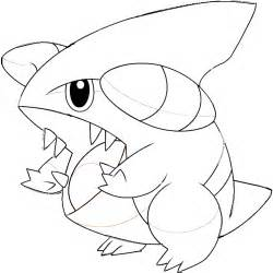 Pokemon Coloring Pages Gible | gible pokemon coloring pages images pokemon images