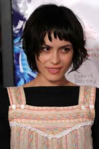 choppy bob haircut with fringe short hairstyles with a fringe