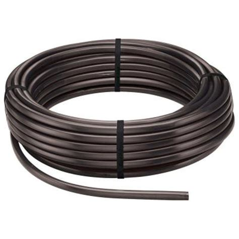 dig 1 2 in x 500 ft poly drip tubing b37 the home depot