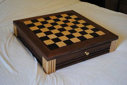 chess board plans walnut chess board wdrawers