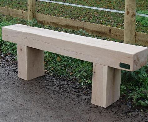 railway sleeper benches cranham oak railway sleeper bench and table branson