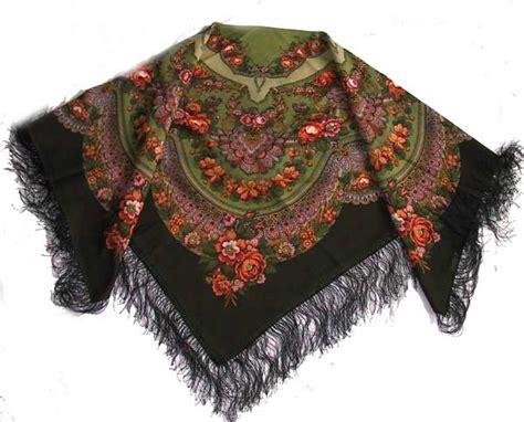 Syal Scarf Ring O Rumbai russian shawl wedding ring povlovo posad woolen scarf