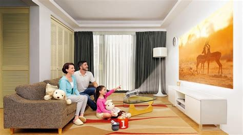 projector in living room benq s new projectors could turn small rooms into cinemas
