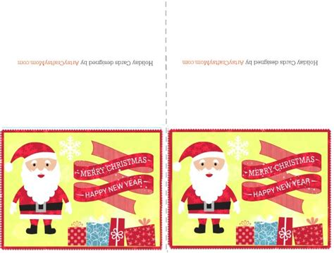 printable christmas and new year cards 2 free printable christmas cards print at home artsy
