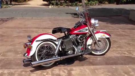 1970 Harley Davidson by 1970 Harley Davidson Flh Running