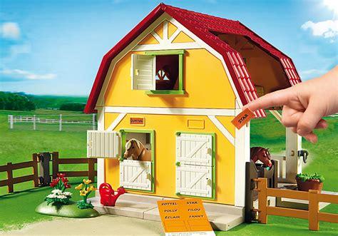 Grange Playmobil by Playmobil 5222 Stadnina Kucyk 243 W Worldtoys Pl
