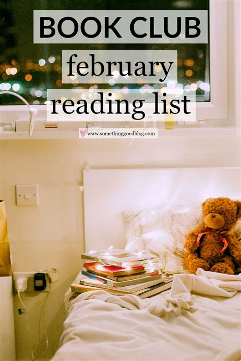 The Sunday Book Club by Sunday Book Club February Reading List Something