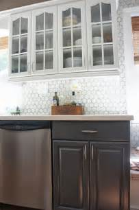 images kitchen blue two tone gray and white painted kitchen cabinet makeover featured on