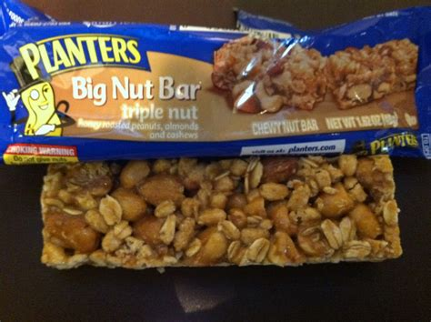 Planters Bar by Food Dude Review Planters Nut Big Nut Bar