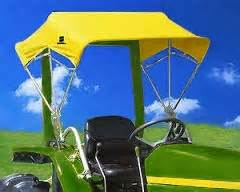 Canvas Tractor Canopy by Snowco 48 Quot Sunshade Replacement Cover Only Yellow Canvas