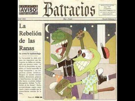 la rebelin de las 8467033533 batracios gracias pero no la rebelion de las ranas