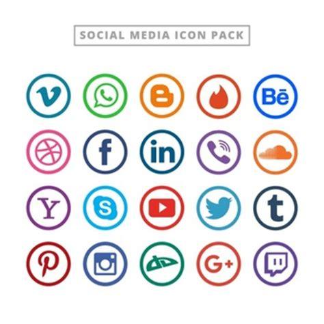 imagenes de redes sociales logos logos redes sociales fotos y vectores gratis