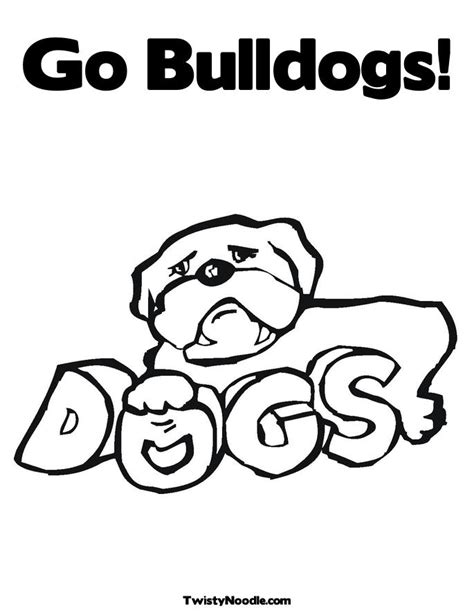directoryusa biz georgia bulldogs coloring pages