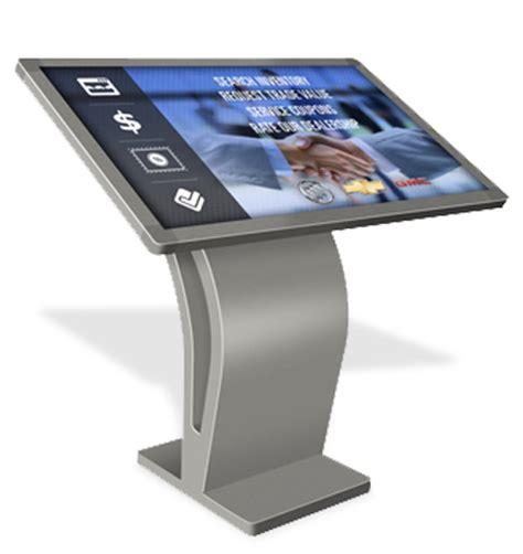 Dealership Floor Plan touch screen table kiosks from the digital dealership