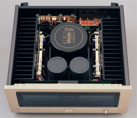 Power Lifier Ad 5000 accuphase audio electronics for the home and studio