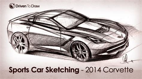 vintage corvette drawing corvette stingray drawing at getdrawings com free for
