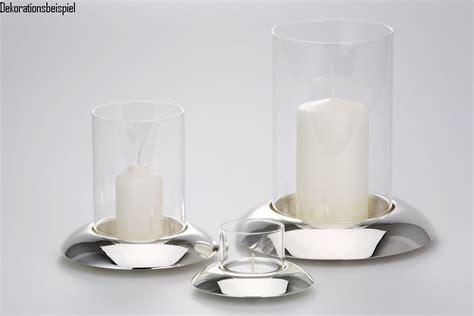 Windlicht Kerzenhalter by Windlicht Kerzenhalter Gro 223 Glatt Poliert Versilbert