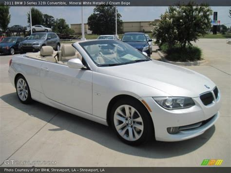 2011 bmw 328i convertible specs 2011 bmw 3 series 328i convertible in mineral white