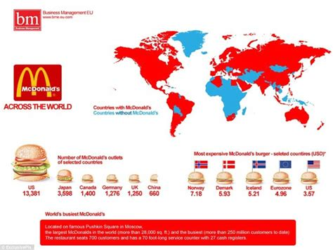 mcdonalds map usa the world explained in maps revealing everything you need