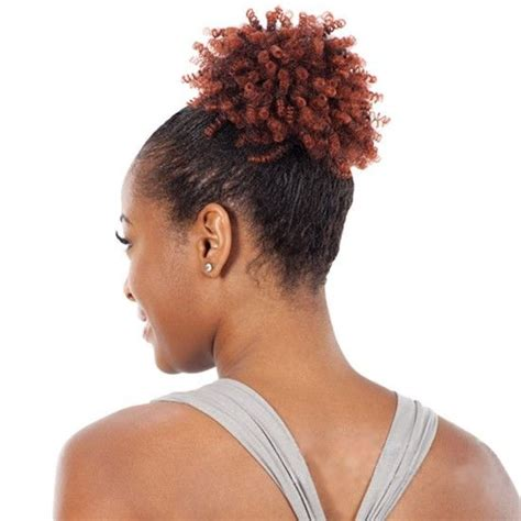 small afro puff ponytail afro punk small by shake n go freetress equal drawstring