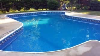 Vinyl liner pools charlotte by sky blue pools