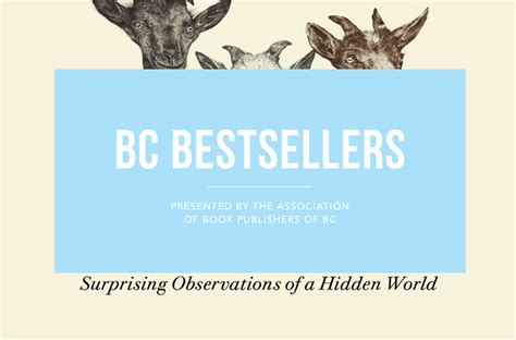 the inner of animals surprising observations of a world books bc bestsellers november 11 2017 read local bc