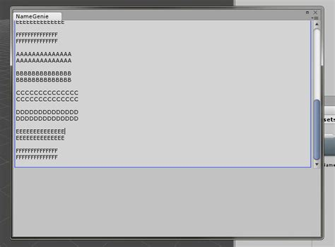 unity layout text how do i add a scrolling input text box in an editorwindow