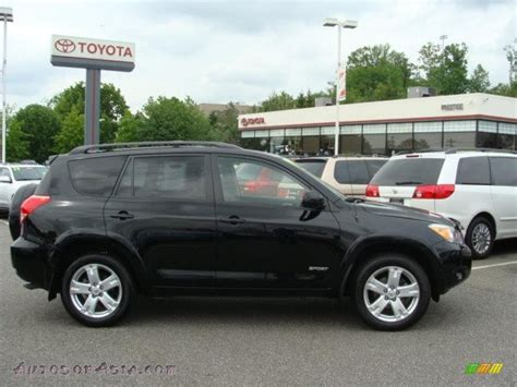 toyota 4wd 2007 toyota rav4 sport 4wd in black 032811 autos of