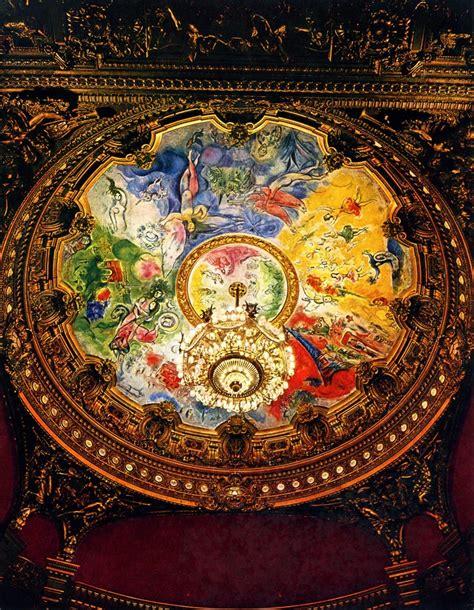 plafond de la salle par jules eug 232 ne lenepveu camoufl 233 depuis 1964 par l œuvre de marc chagall