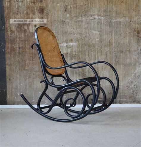 schaukelstuhl thonet thonet schaukelstuhl bugholz rocking chair michael thonet
