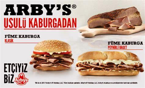 Arby's Sandviç ve Diğer Tüm Arby's Ürünleri   Arby's Türkiye Arby S Turkiye şubeleri