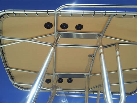i have done many contenders nice boat the rod holders i - Boat T Top Grommets